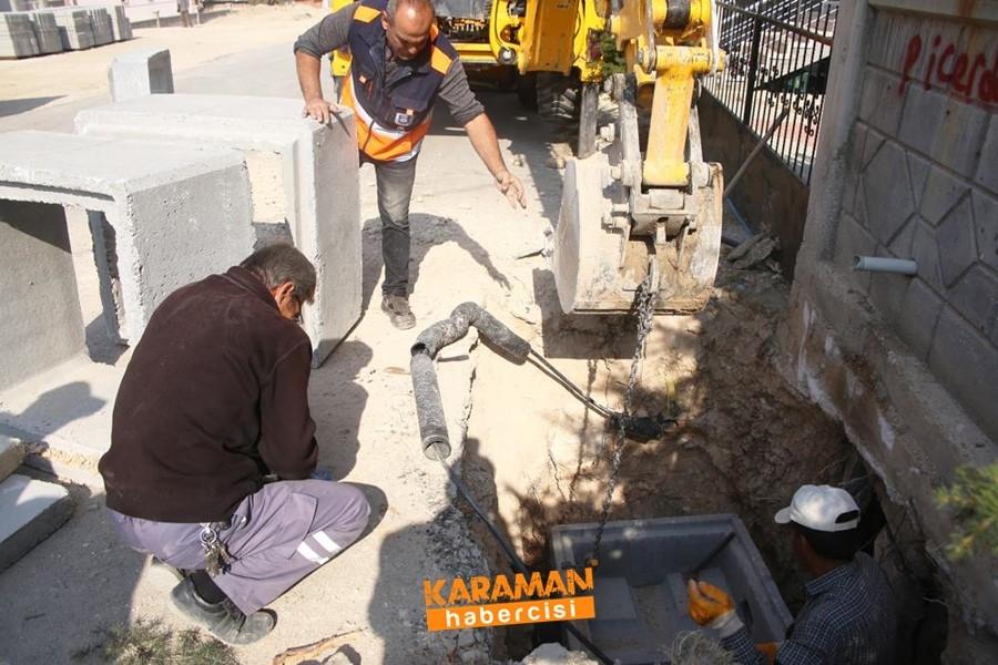 Karaman Belediyesi Çalışmaları Zembilli Ali Efendi Mahallesinde 9