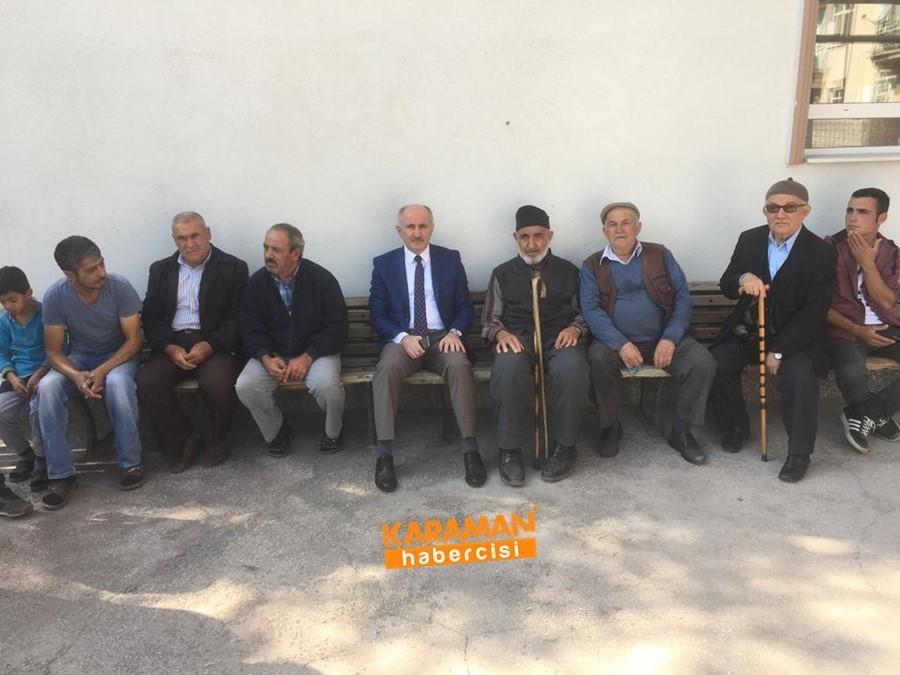 Karaman Valisi Fahri Meral Topucak Sakinleri İle Buluştu 3