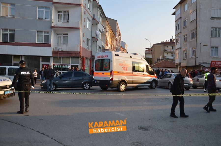 Karaman'da Silahlı Saldırı 1