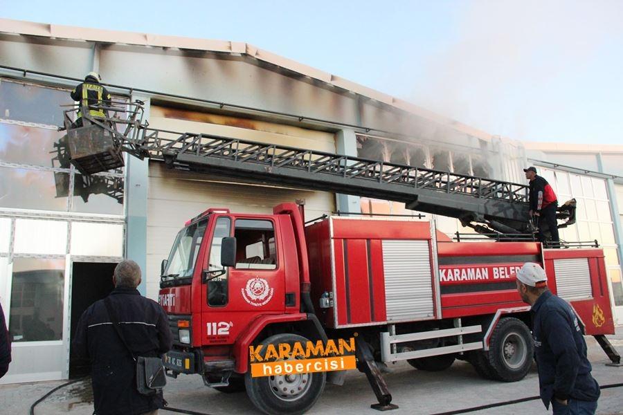 Karaman'da Depo Yangını 3