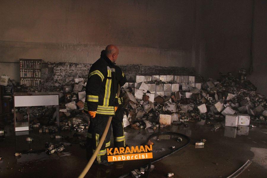 Karaman'da Depo Yangını 4