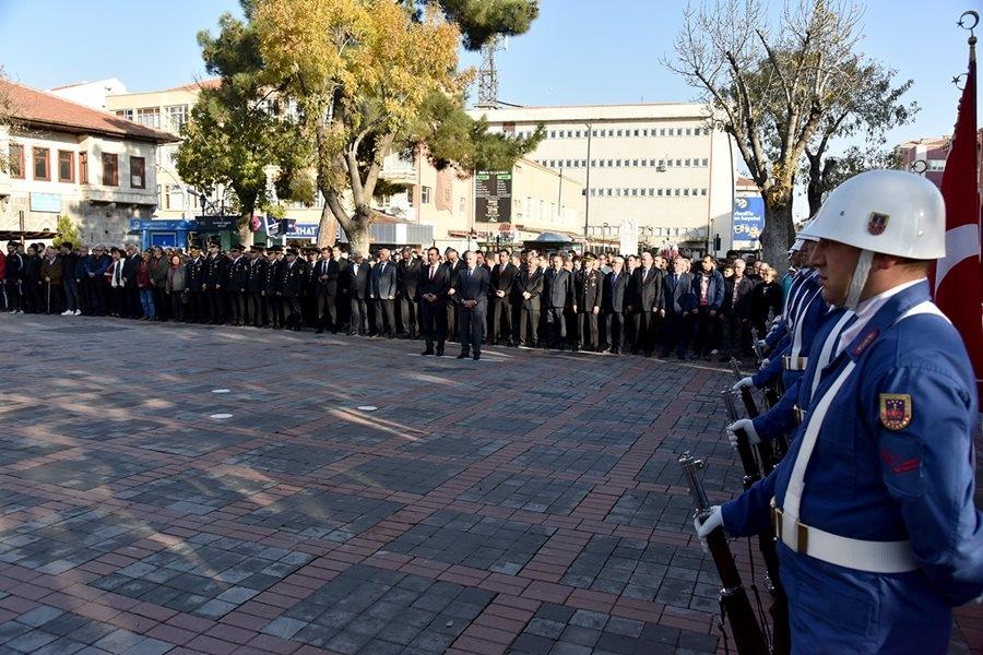 Karaman'da 10 Kasım Anma Törenleri 1