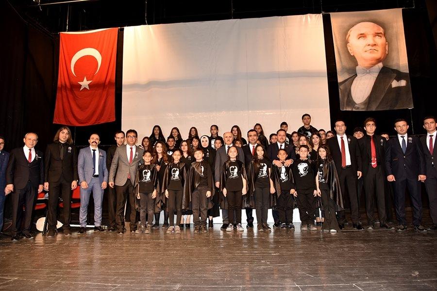 Karaman'da 10 Kasım Anma Törenleri 16