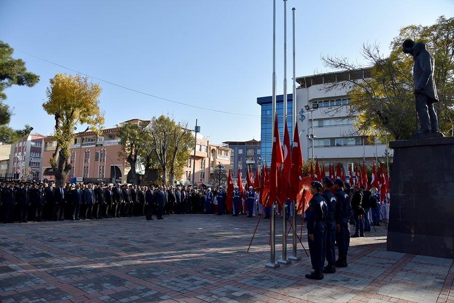 Karaman'da 10 Kasım Anma Törenleri 6