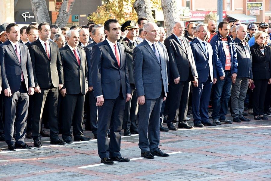 Karaman'da 10 Kasım Anma Törenleri 7