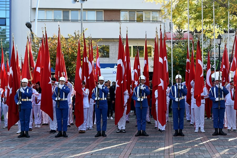 Karaman'da 10 Kasım Anma Törenleri 8