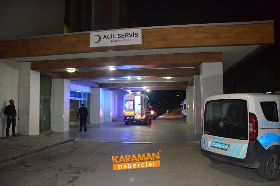 Karaman'da Büyüyen Tartışma Kanlı Bitti 2