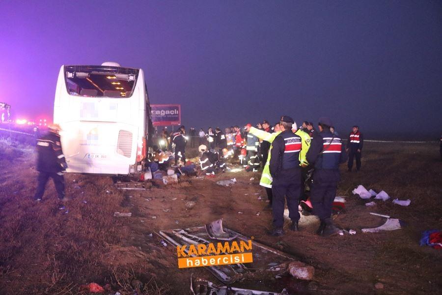 Aksaray'da Otobüs Kazası 11