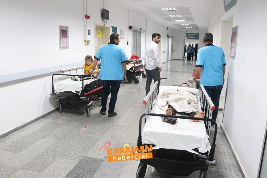 Aksaray'da Otobüs Kazası 18