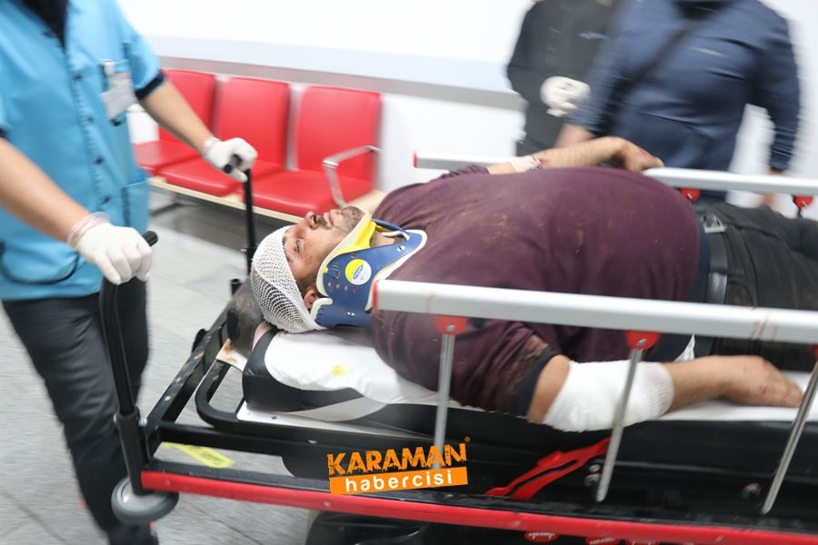 Aksaray'da Otobüs Kazası 19