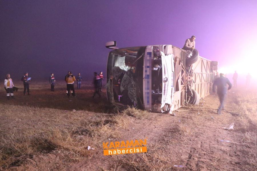 Aksaray'da Otobüs Kazası 7