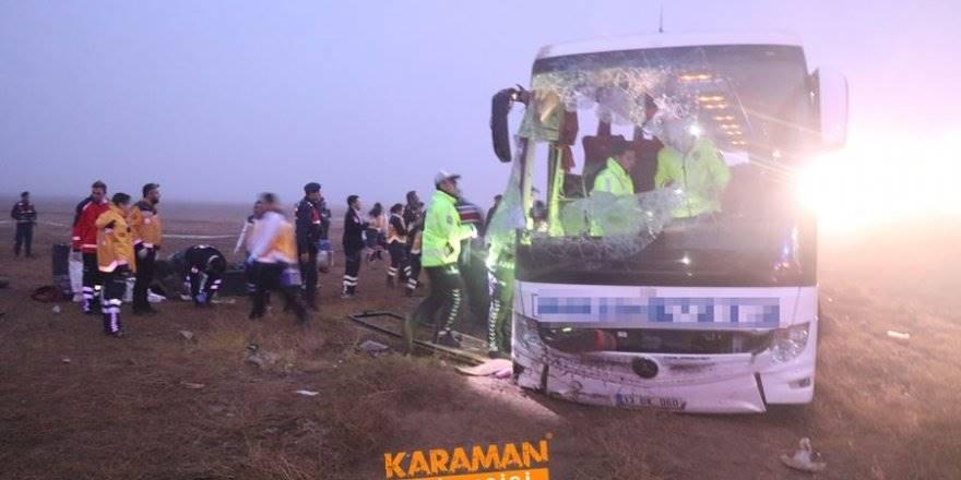 Aksaray'da Otobüs Kazası