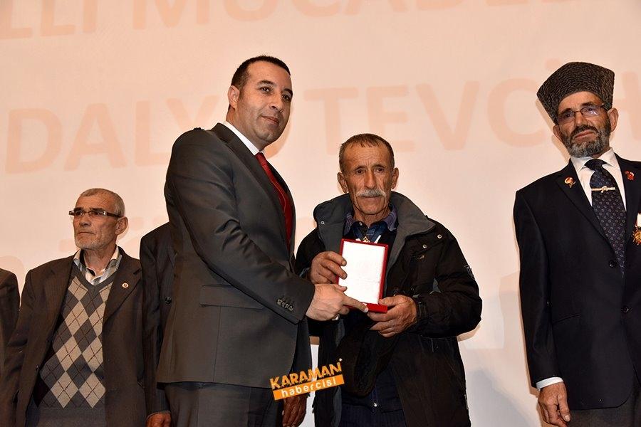 Kıbrıs Barış Harekâtına Katılan Gazilerimize Milli Mücadele Madalya Ve B 1