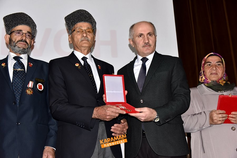Kıbrıs Barış Harekâtına Katılan Gazilerimize Milli Mücadele Madalya Ve B 2