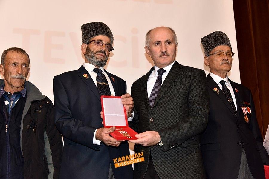 Kıbrıs Barış Harekâtına Katılan Gazilerimize Milli Mücadele Madalya Ve B 4