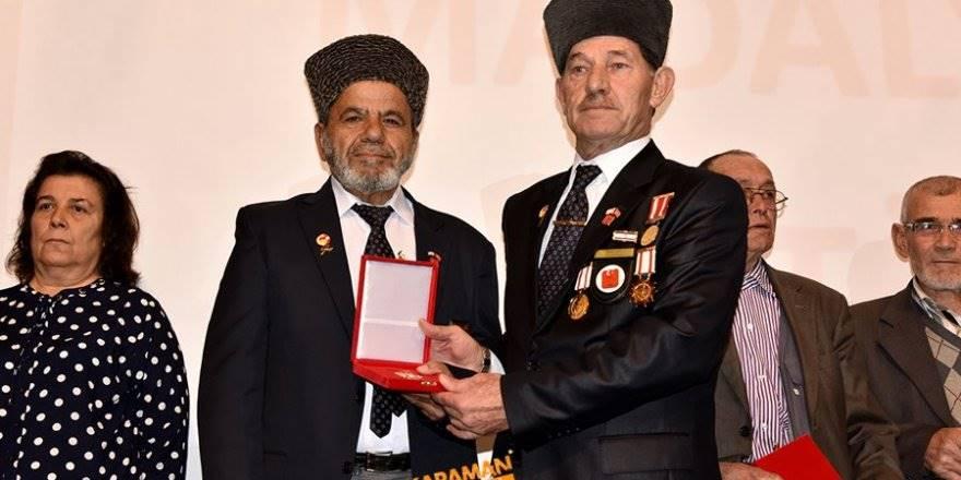 Kıbrıs Barış Harekâtına Katılan Gazilerimize Milli Mücadele Madalya Ve B