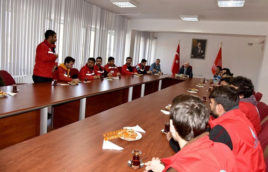 """""""Damla Projesi"""" Gönüllülerinden Ziyaret 4"""