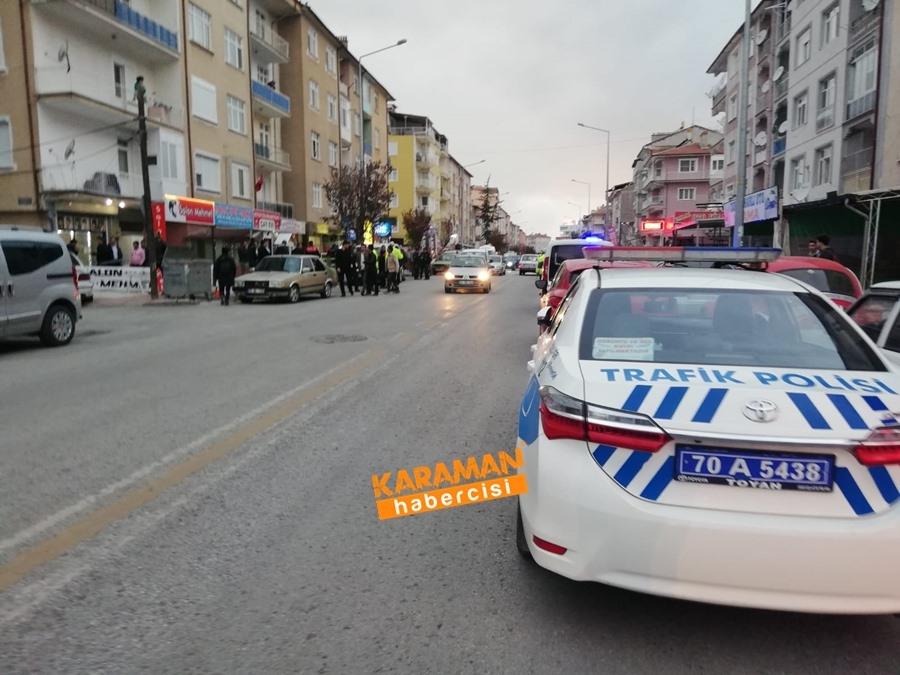 Karaman'da Bıçaklı Kavga 3