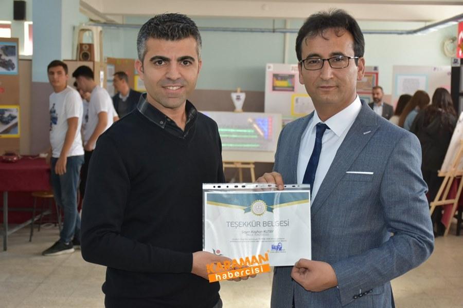 Karaman'da Öğrenciler Araştırmalarını Sundular 37