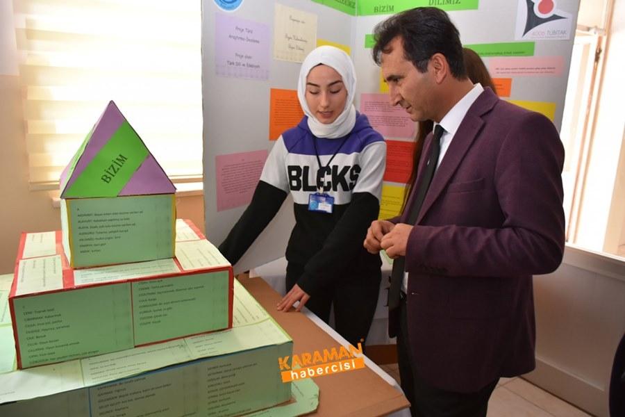 Karaman'da Öğrenciler Araştırmalarını Sundular 9