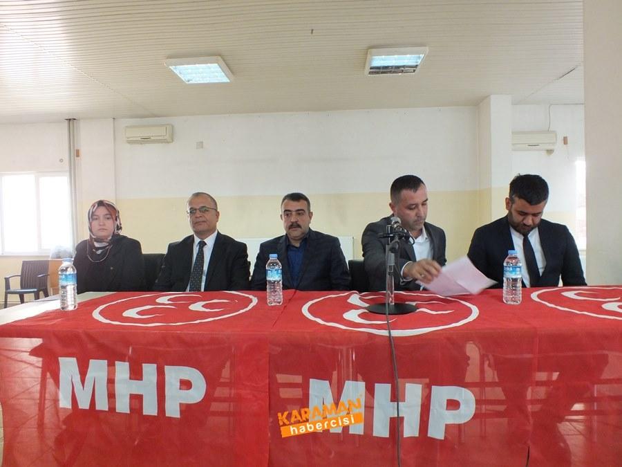 MHP, Teşkilatıyla Taşeli Bölgesinde 3