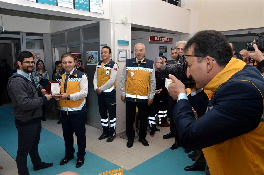 """Karaman'da """"Acil Sağlık Hizmetleri Haftası"""" Kutlandı 2"""