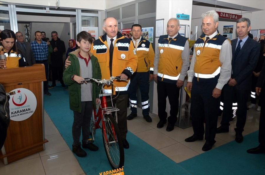 """Karaman'da """"Acil Sağlık Hizmetleri Haftası"""" Kutlandı 4"""