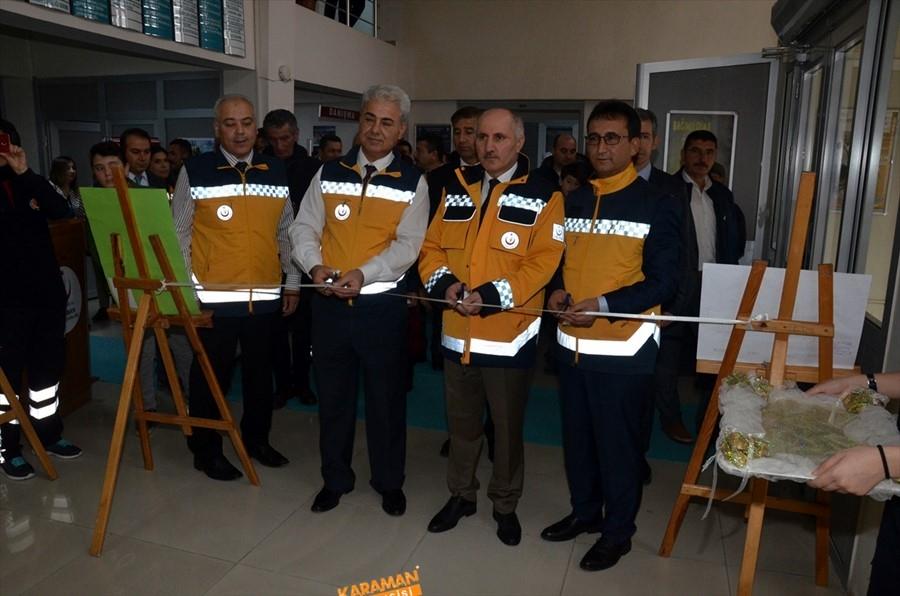 """Karaman'da """"Acil Sağlık Hizmetleri Haftası"""" Kutlandı 7"""