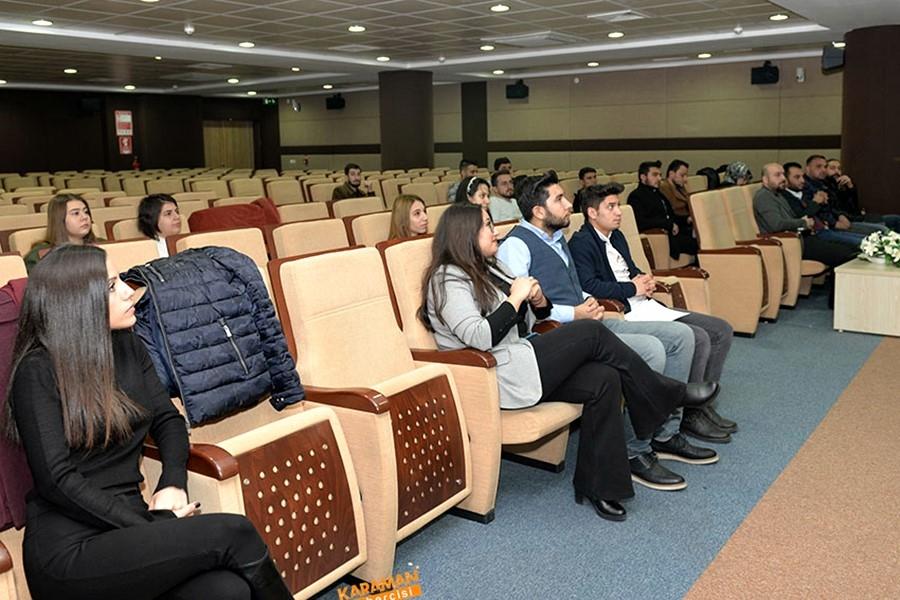 KMÜ'de Sosyal Girişimcilik Konferansı Verildi 1