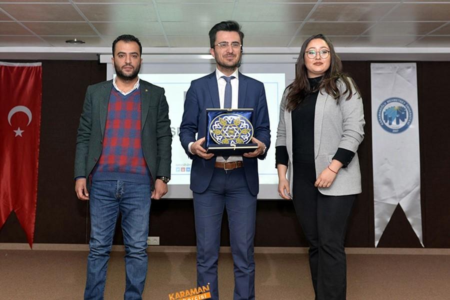 KMÜ'de Sosyal Girişimcilik Konferansı Verildi 2