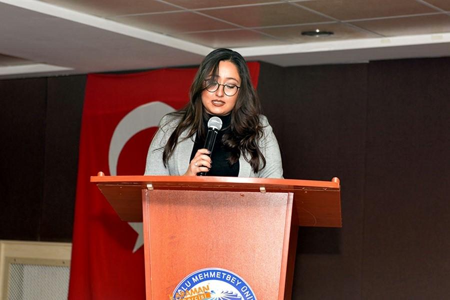 KMÜ'de Sosyal Girişimcilik Konferansı Verildi 6