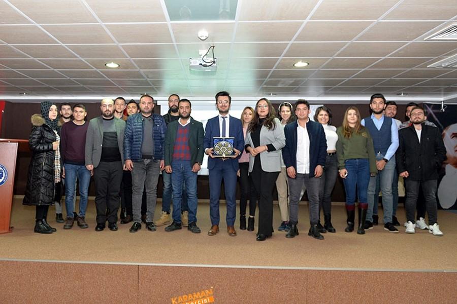 KMÜ'de Sosyal Girişimcilik Konferansı Verildi 7