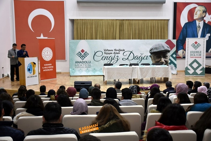 Karaman'da Anadolu Mektebi Rüzgârı Esti 2