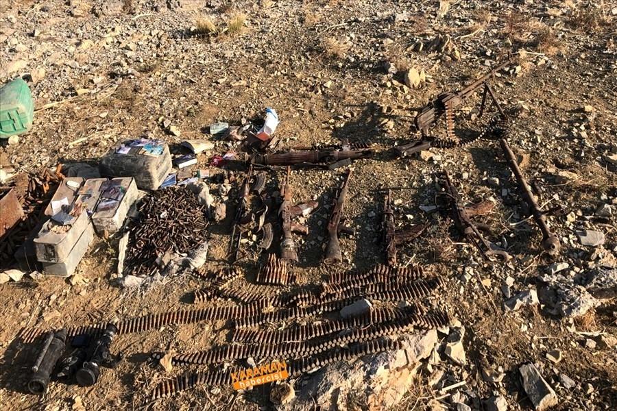 Irak Kuzeyinde Pkk'ya Ait Silah Ve Mühimmat Ele Geçirildi 2