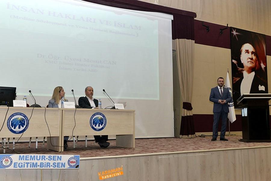KMÜ'de İnsan Hakları Paneli 10