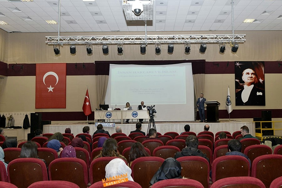 KMÜ'de İnsan Hakları Paneli 11
