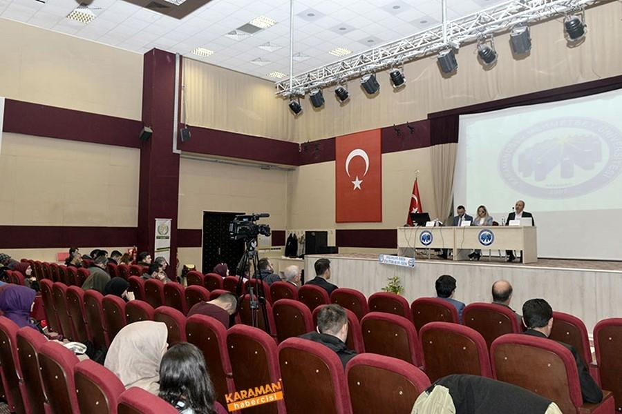 KMÜ'de İnsan Hakları Paneli 12