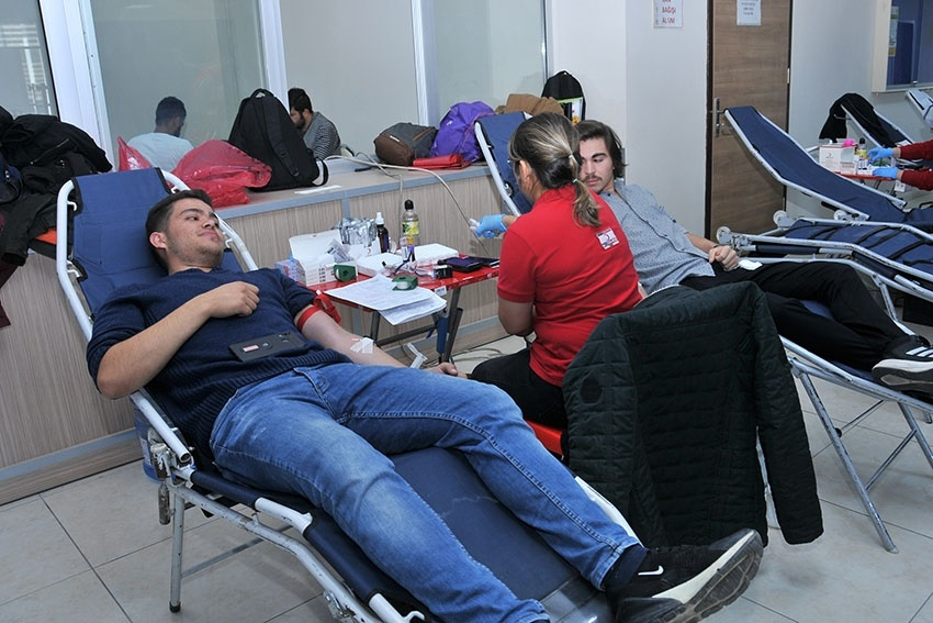 KMÜ'de Kan Bağışı Ve Kök Hücre Kampanyası 2