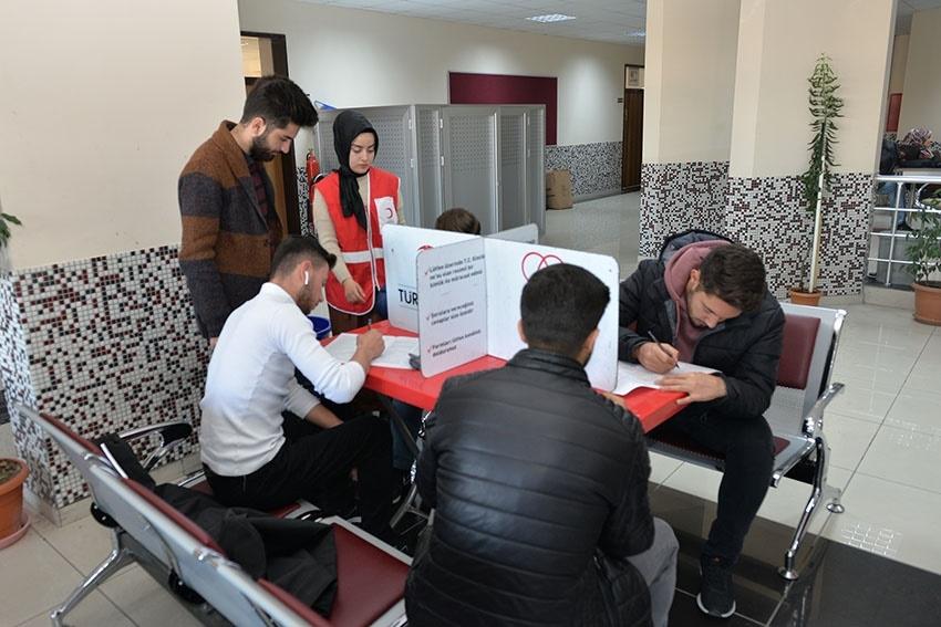 KMÜ'de Kan Bağışı Ve Kök Hücre Kampanyası 5