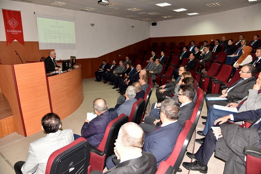 Ekonomi Değerlendirme Toplantısı Yapıldı 1