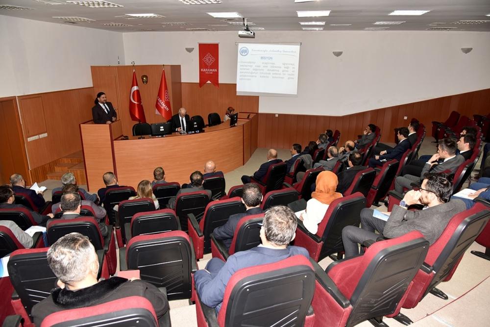 Ekonomi Değerlendirme Toplantısı Yapıldı 2