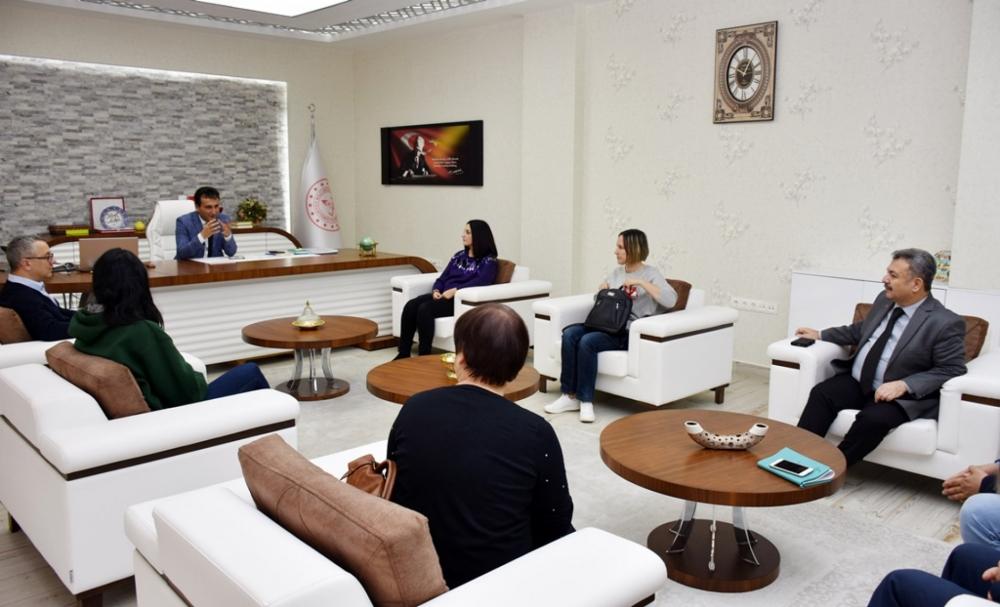 Avrupalı Eğitimcilere Karaman'da Manevi Sağlık Anlatıldı 2