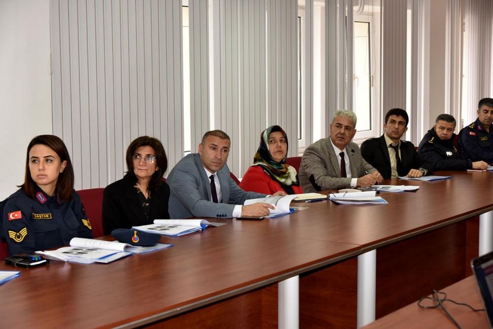 Kadına Yönelik Şiddetle Mücadele Koordinasyon Planı Toplantısı Yapıldı 1