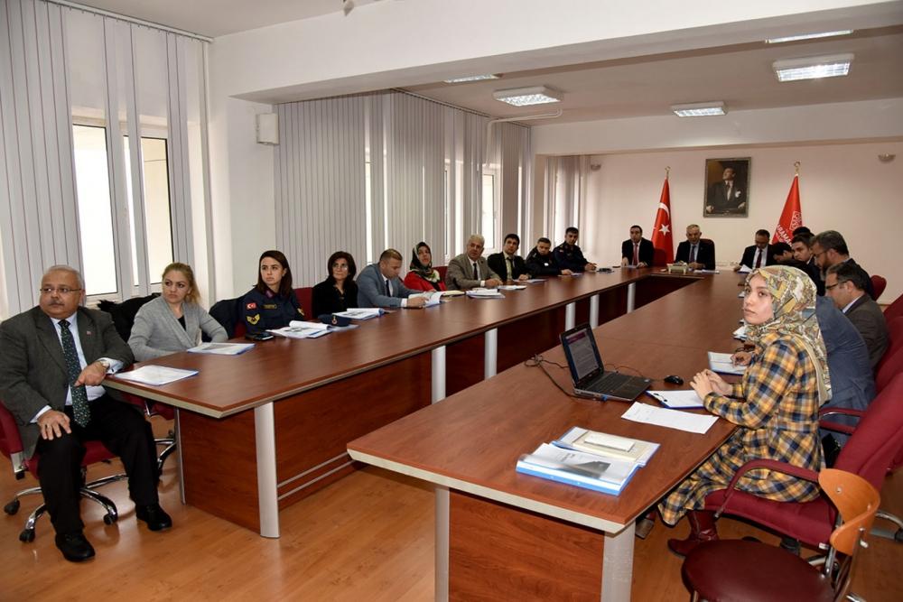 Kadına Yönelik Şiddetle Mücadele Koordinasyon Planı Toplantısı Yapıldı 2