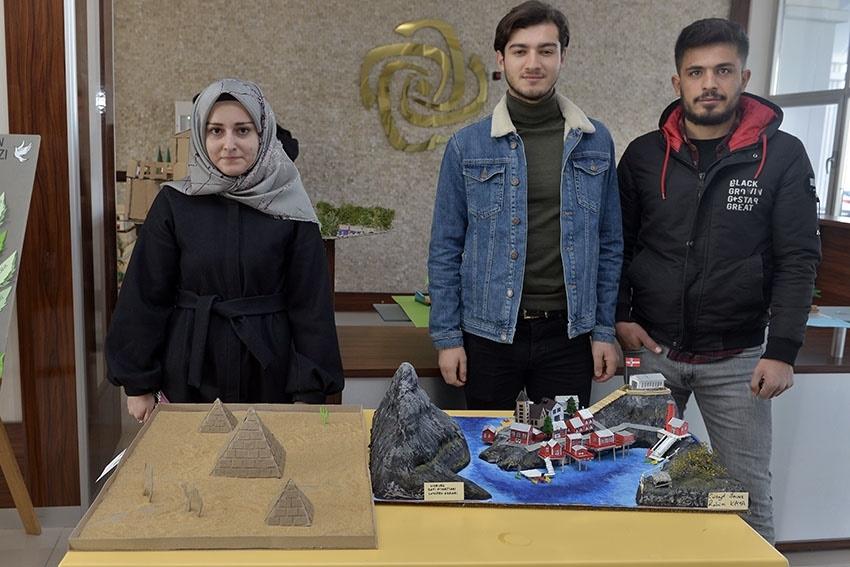 KMÜ İslami İlimler Fakültesi Öğrencilerinden El Sanatları Sergisi 6