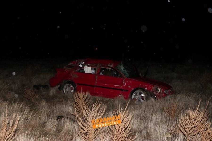 Karaman'da Trafik Kazasında Genç Uzman Çavuş Hayatını Kaybetti 3