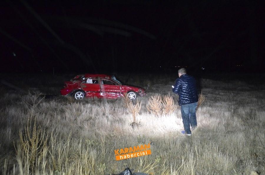 Karaman'da Trafik Kazasında Genç Uzman Çavuş Hayatını Kaybetti 5