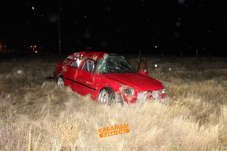 Karaman'da Trafik Kazasında Genç Uzman Çavuş Hayatını Kaybetti 9