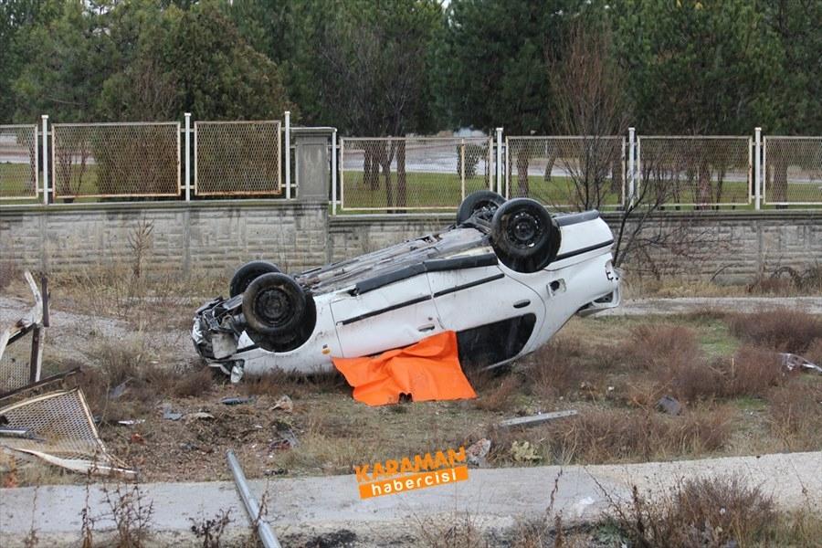 Konya'da Trafik Kazası 1 Ölü 1