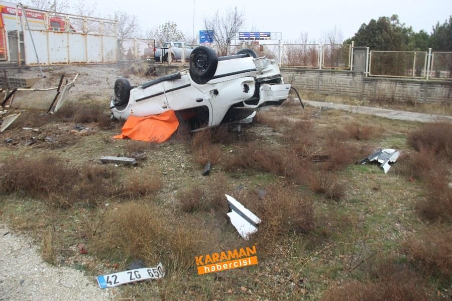 Konya'da Trafik Kazası 1 Ölü 5